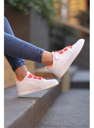 Oksit Spor Ayakkabı Oranj